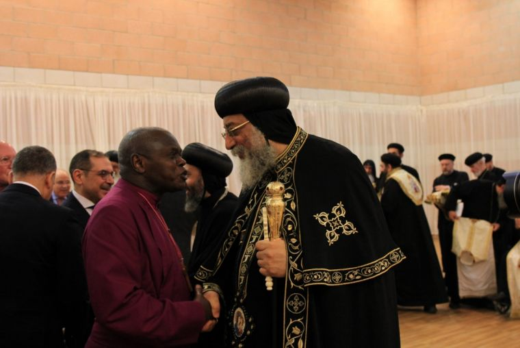 Pope Tawadros II meets the Archbishop of York