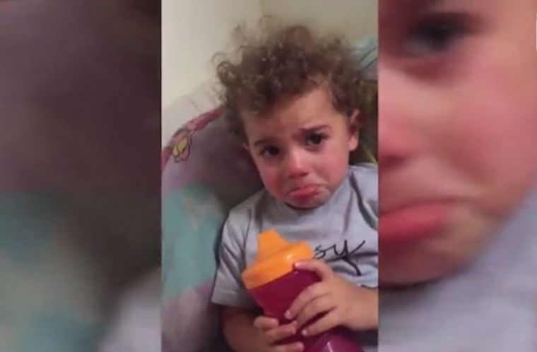 Viral video shows 2-year-old girl crying because Jesus ...