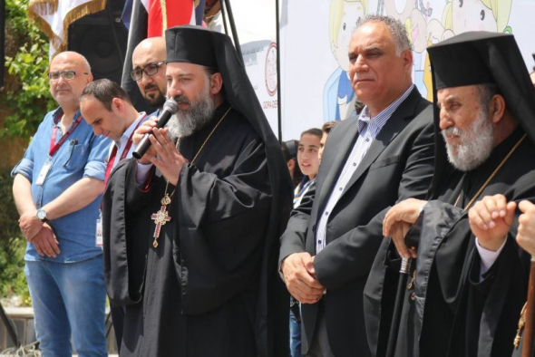 Archimandrite Alexi Chehadeh of the Greek Orthodox Patriarchate