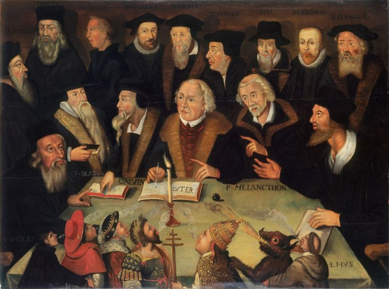 Martin Luther in the Circle of Reformers, 1625/1650