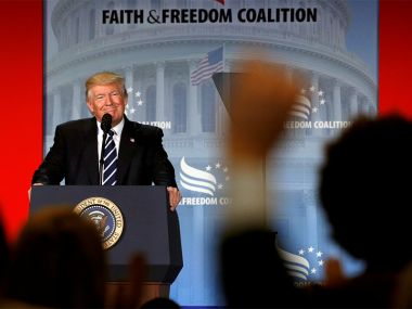 President Trump faith