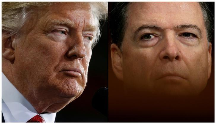 Trump on Comey: He's a leaker