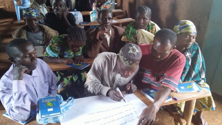 Tearfund's gender workshops in the Democratic Republic of Congo.