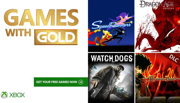 Xbox Live's Games With Gold Revealed