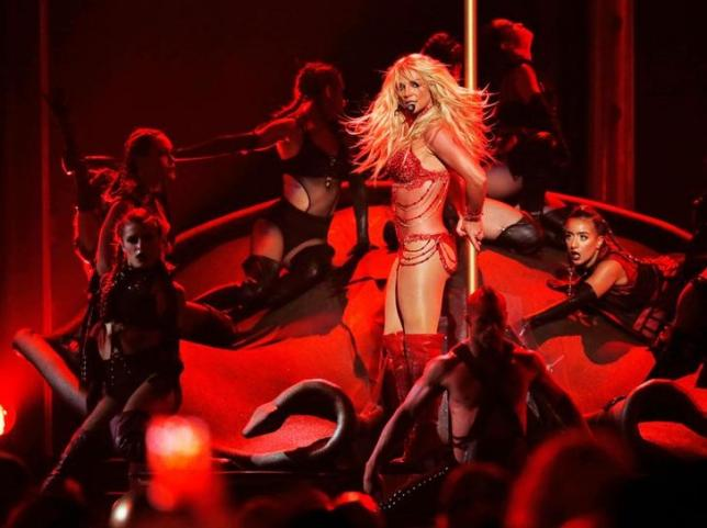 Britney Spears Performs for Over 50 Thousand Fans in Tel Aviv