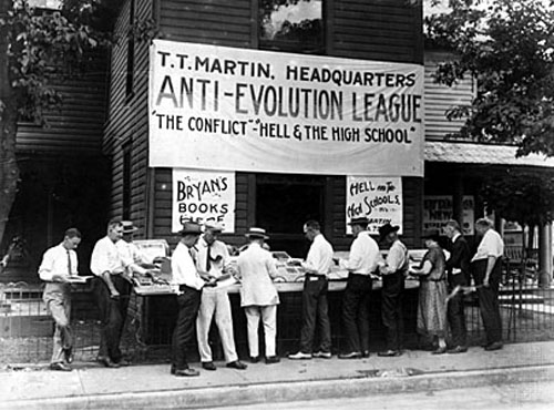 Scopes Trial Anti-Evolution League