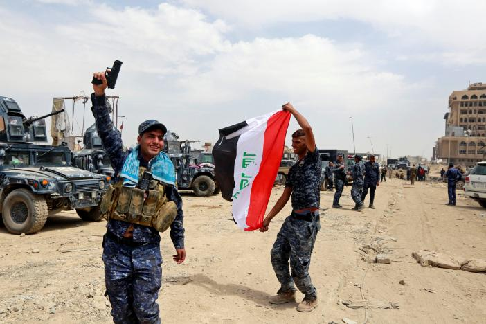 Iraq is to declare victory