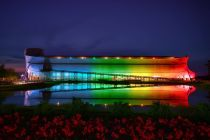 Ark Encounter is lit up to 'take back the rainbow' from LGBT people