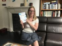 jo-swinney-with-her-book-home-in-the-christian-today-office