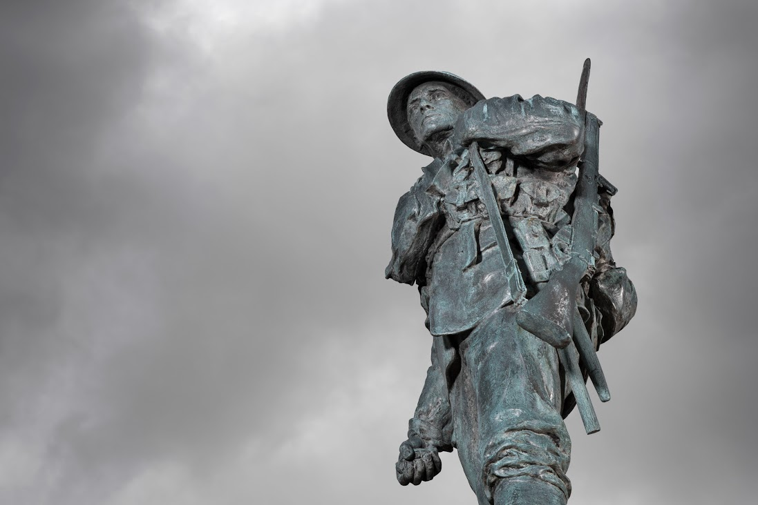 Memorial commemorates Hertfordshire's fallen war heroes during Passchendaele