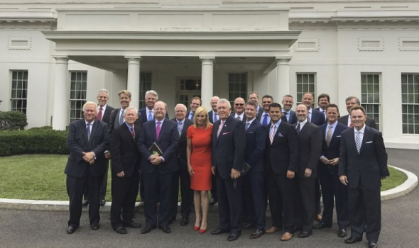 Evangelical leaders at White House