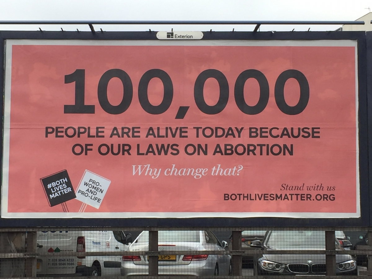 Pro-life abortion billboard 'unlikely to mislead readers' says ad watchdog