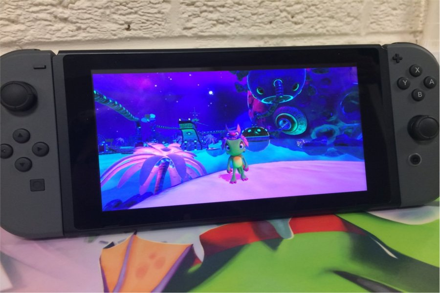 'Yooka-Laylee' Releases For Nintendo Switch On December 14