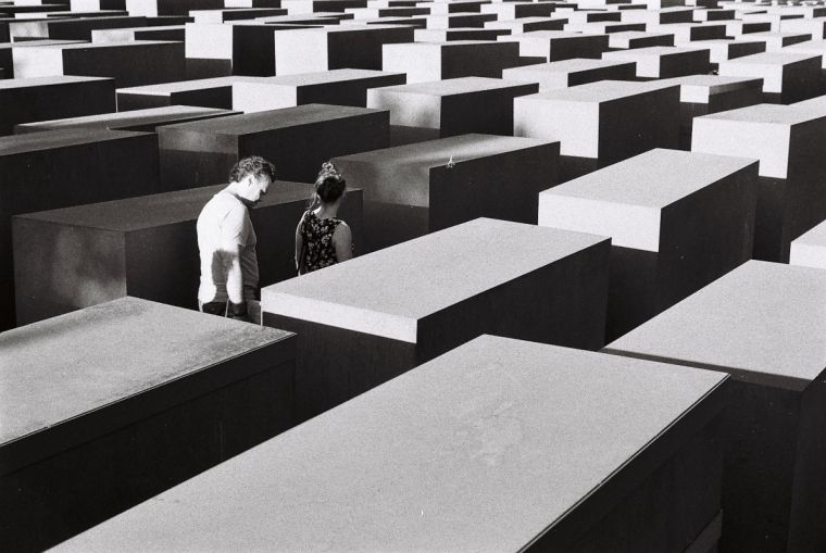 Memorial to the 6 million murdered Jews of Europe in Berlin, Germany