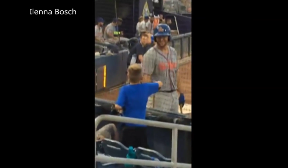Seth Bosch was moved to tears when Tim Tebow shook his hand during a game
