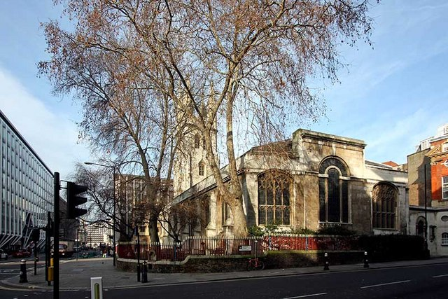 St. Sepulchre Without Newgate Church in Holborn