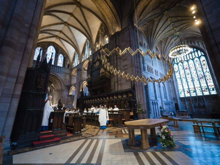 Choral Evensong at Hereford Cathedral