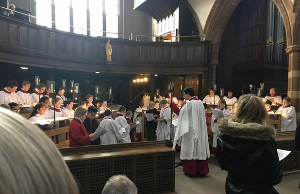 Choral Evensong at Leicester Cathedral
