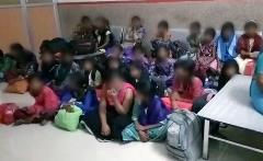 India children detained