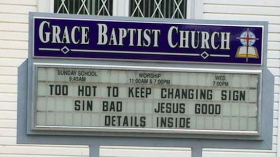 Sin bad, Jesus good