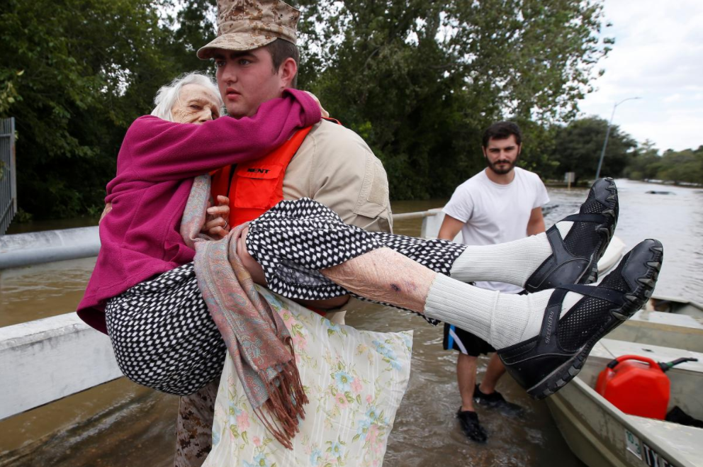 Helping in the Wake of Hurricane Harvey
