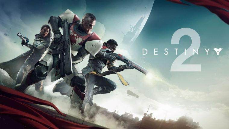 The official wallpaper of Destiny 2