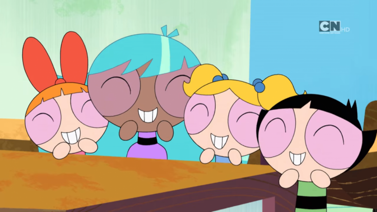 the powerpuff girls adds fourth member first look revealed in