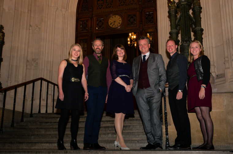 Keith and Kristyn Getty have been honoured by Christians in Parliament to mark Keith's OBE award in June