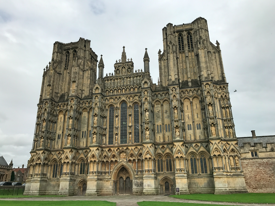 People aren't happy about the new 'Hellboy' being filmed in this cathedral