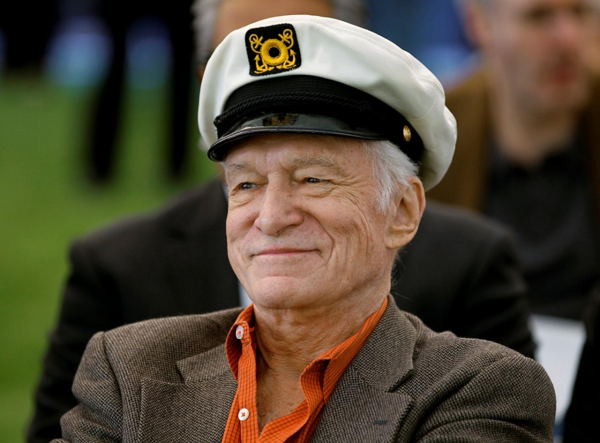 Hugh Hefner, Playboy founder, died in the Playboy Mansion on Wednesday