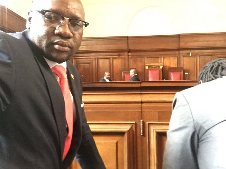 Pastor Evan Mawarire in court