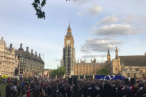 'We repent of our disunity': Church leaders pray in the shadow of Parliament and Westminster Abbey