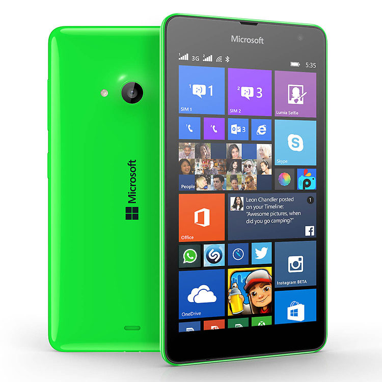 Lumia Windows 10 mobile phone