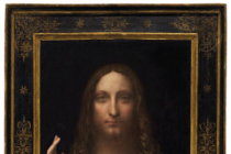 Mystery surrounds the location of a $450m painting of Jesus by Leonardo Da Vinci
