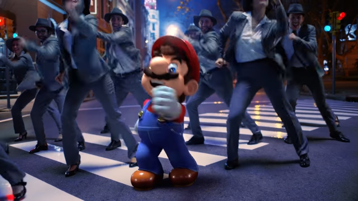 Mario gets musical in live-action trailer for Super Mario Odyssey