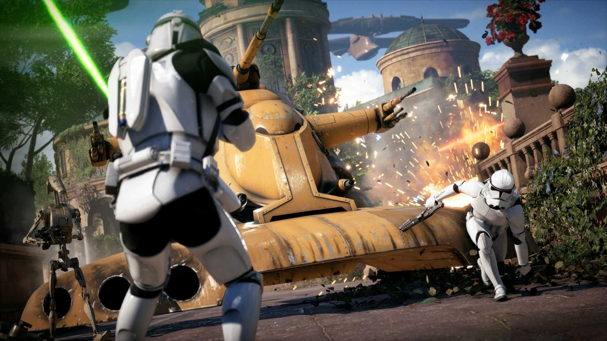 The 'Star Wars Battlefront II' single player trailer is intense