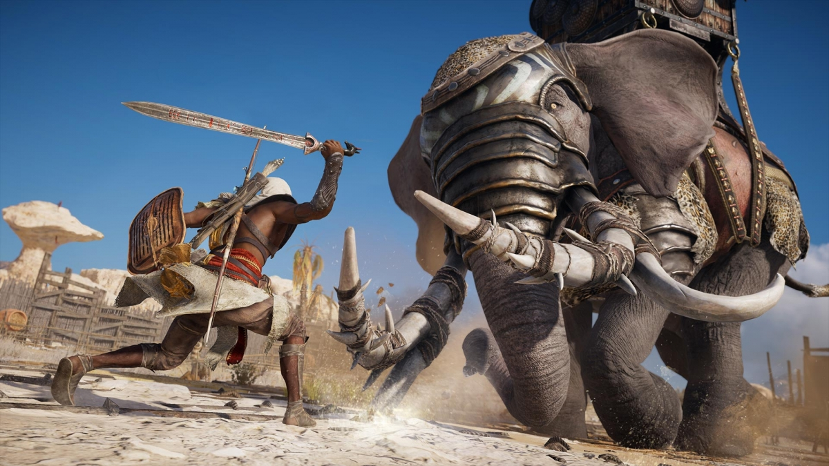 Assassin's Creed Origins Gets A Legend Of The Assassin Launch Trailer