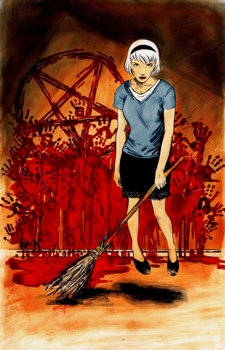 Sabrina The Teenage Witch Comic Book Reboot