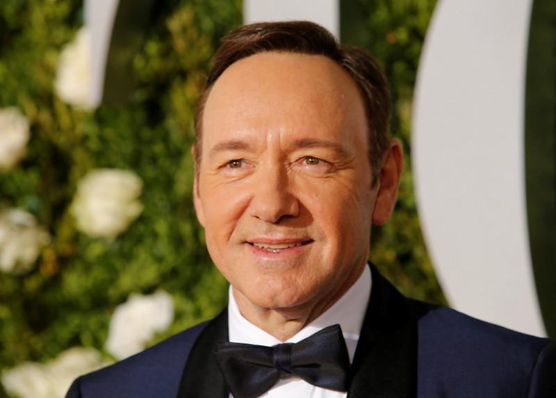 Kevin Spacey arrives at the 71st Tony Awards Arrivals New York City