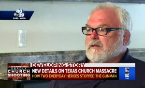 Hero Neighbor Who Shot Down Texas Church Shooter Admits He Was 'Scared To Death' At The Time