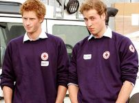 Prince Harry (Left) and Prince William (Right) are finalising plans ...
