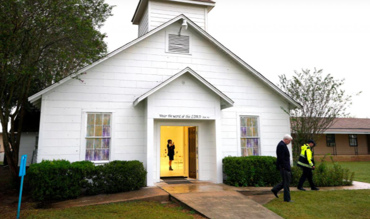 Two Conspiracy Theorists Arrested for Berating Victims of Texas Church Massacre