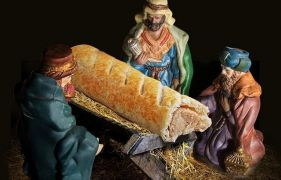 Four reasons why Christians should be celebrating Greggs' sausage-roll Jesus