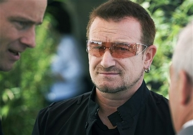 Images: Bono's many brushes with greatness