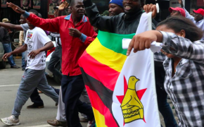 'These are tears of joy': Ecstatic Zimbabweans flood Harare to celebrate expected Mugabe downfall
