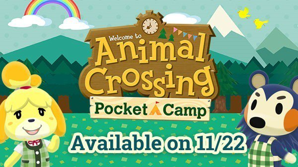Animal Crossing: Pocket Camp launches worldwide on November 22