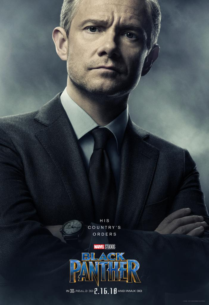 Image result for black panther martin freeman