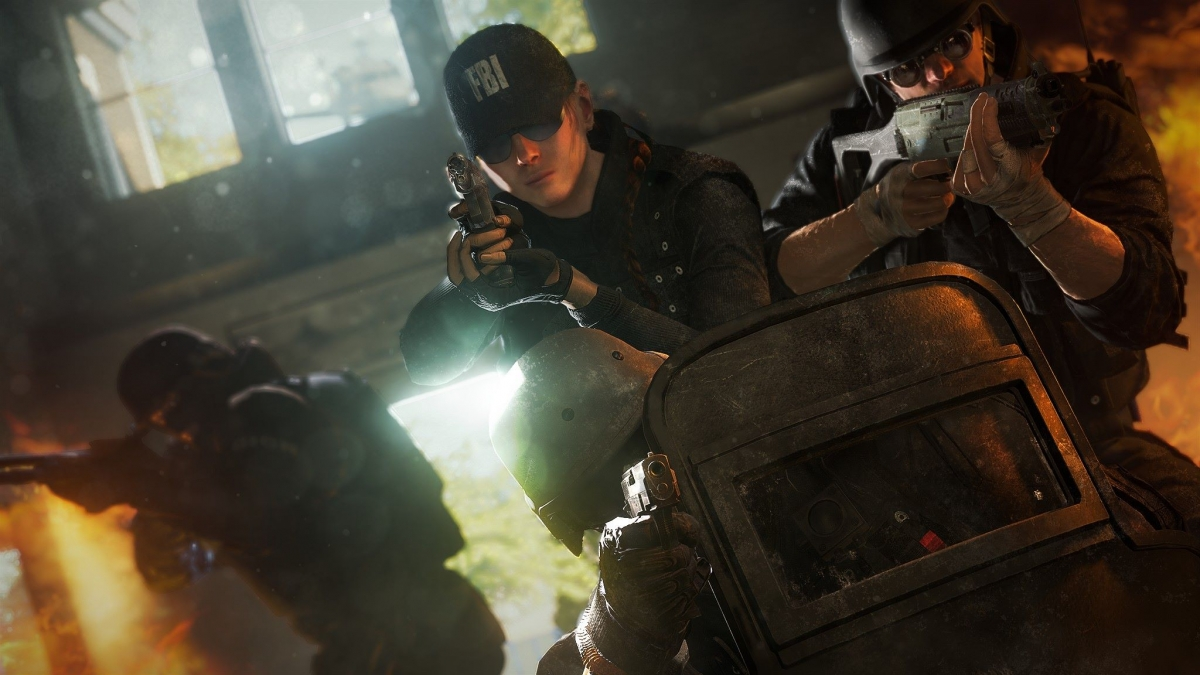 Rainbow Six Siege Year Three will feature a co-op event called 'Outbreak'