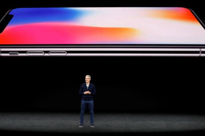 Reuters Stephen Lam Launch event of Apple's new smartphone the iPhone X