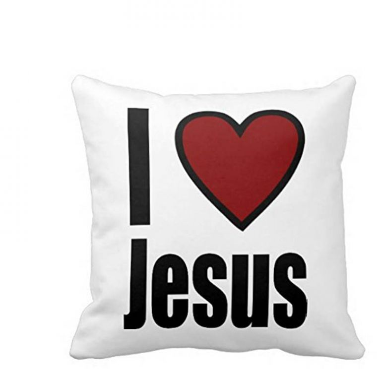 jesus cushion